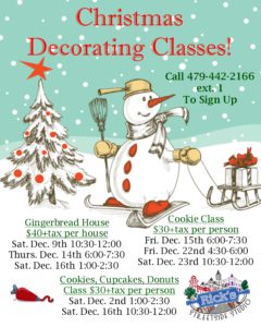 Christmas Classes
